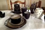 Dukning med med keramik ur Douglas och Randy.