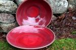 Drejade skålar i läckra färger