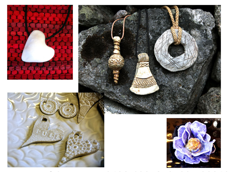 Gör ditt eget smycke/dekoration till blompinne, kanske inspirerat av vikingatiden. Kurserna hålls här på Torsås Fajans krukmakeri, eller om ni finns i närheten hos er.
